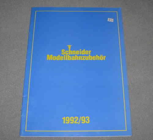 schneider katalog 1992 nordbahn an verkauf. Black Bedroom Furniture Sets. Home Design Ideas