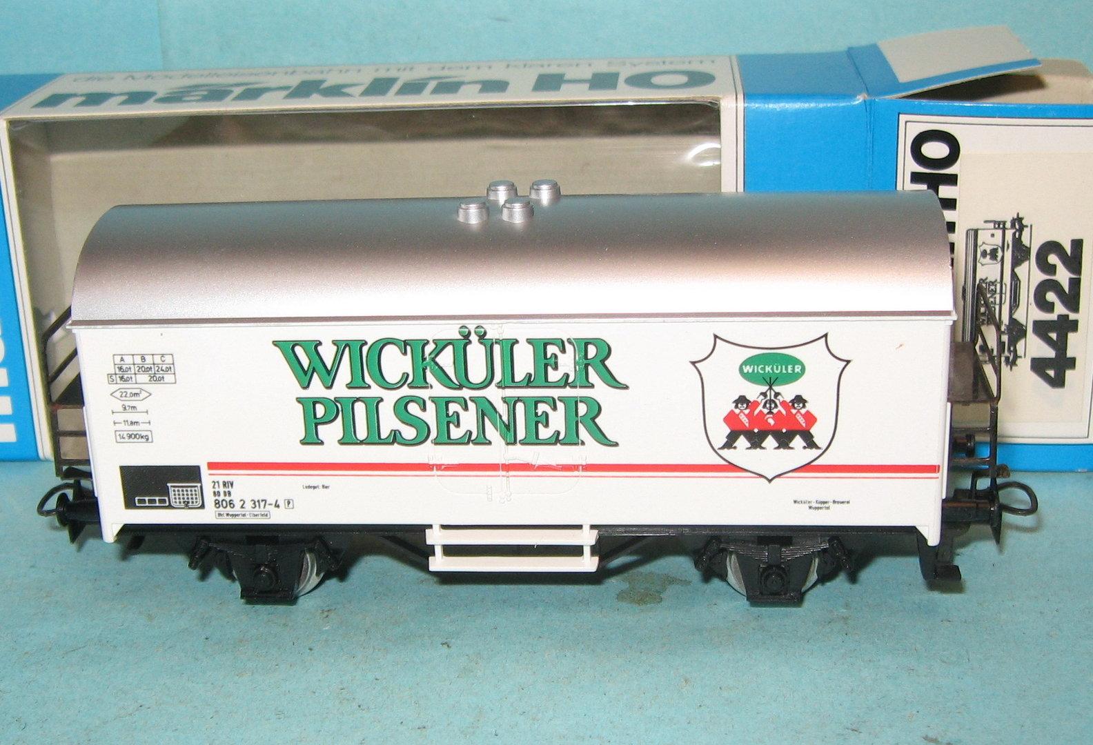 M rklin 4422 db k hlwagen wick ler pilsener ep 4 for 4 4422 c