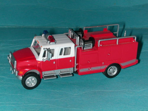 Boley International 4900 Fire Dept. Pump and Hose Truck Feuerwehr USA
