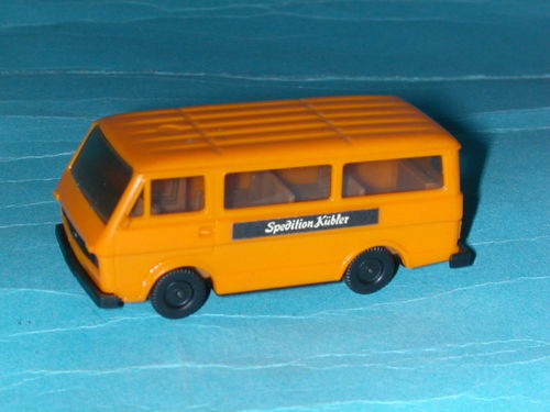 Herpa VW Volkswagen LT 28 Kombi Bus orange SPEDITION KÜBLER