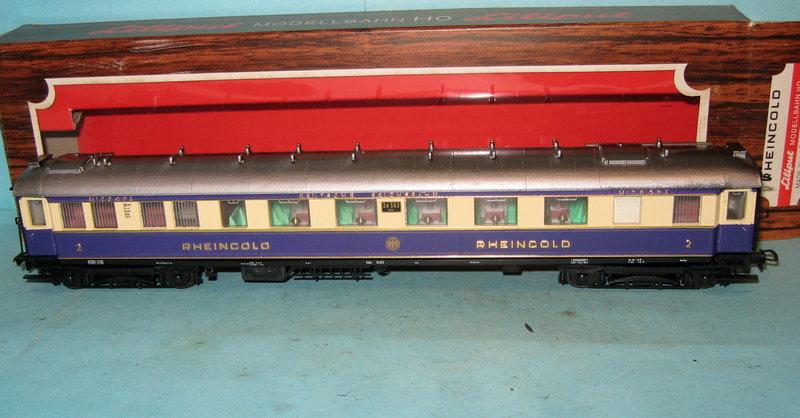 BM3354 Liliput H0 82 200 Salonwagen SA4ü 1 Klasse Rheingold DRG OVP