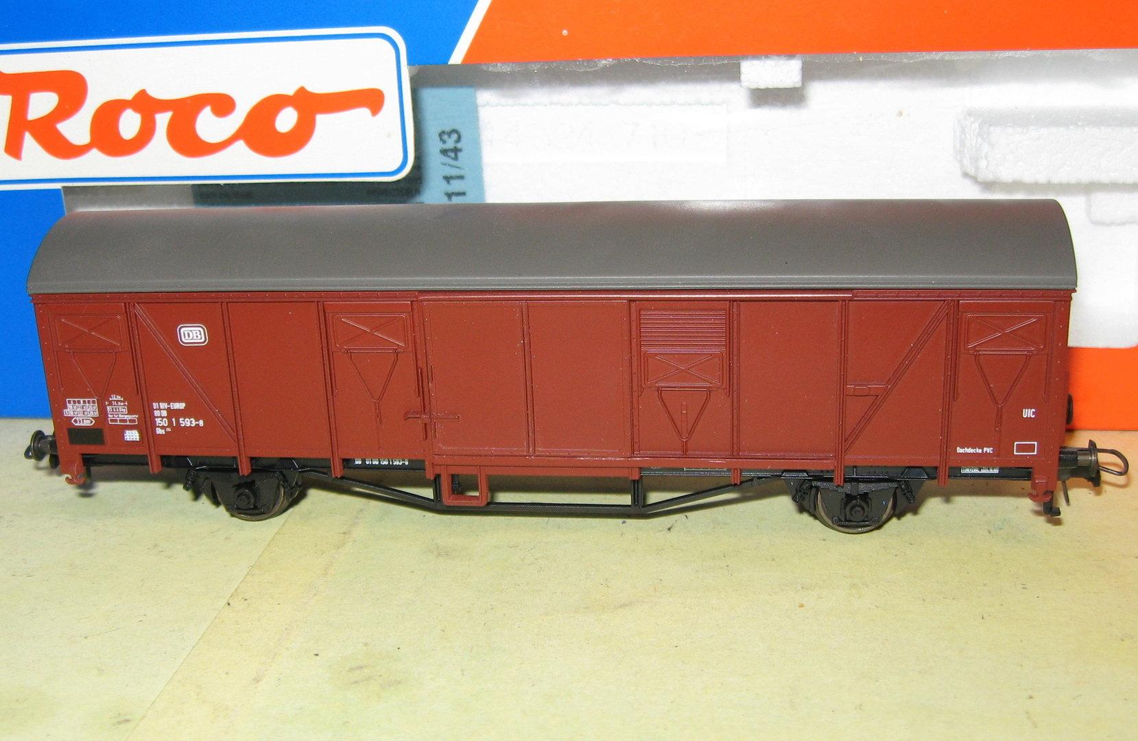 Roco 46408 Gedeckter Güterwagen Gbs der DB