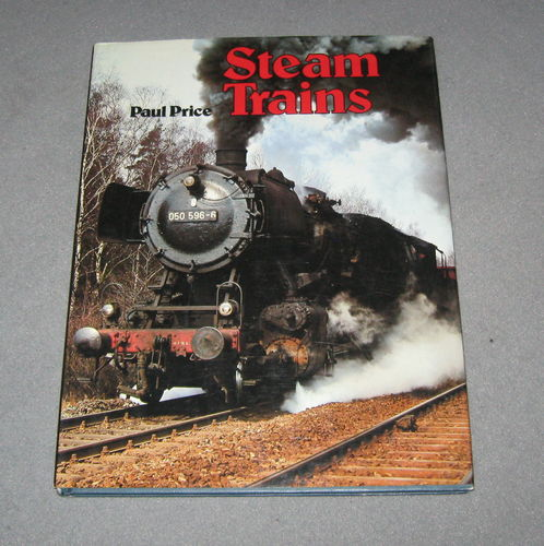 Paul Price - Steam Trains - Albany Books
