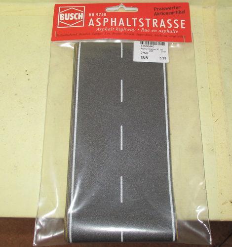 Busch 9750 Asphaltstrasse 80 H0