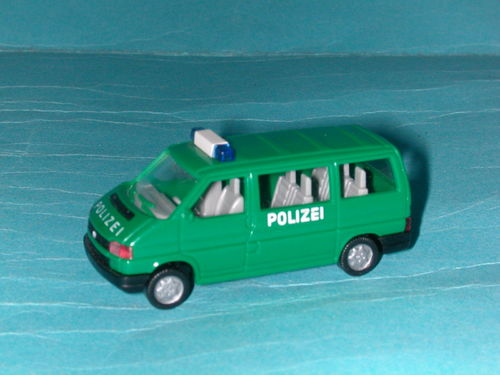 Wiking 109 VW T4 Caravelle Polizei