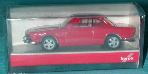 Herpa 22811 BMW 3.0 CSI Coupé E9 rot in OVP