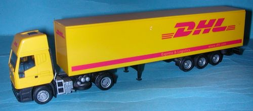 AMW Iveco Euro Star Topsleeper Koffer-Sattelzug DHL EXPRESS