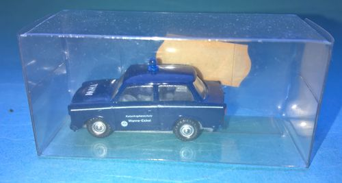 s.e.s. minicars Trabant 601 Limousine grau THW Wanne-Eickel in OVP