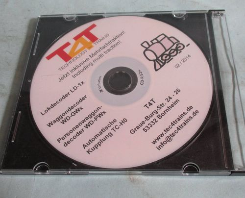 T4T Technologie for Trains CD