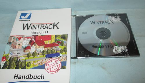 Wintrack Version 11.0 CD & Handbuch