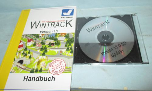 Wintrack Version 13.0 CD & Handbuch