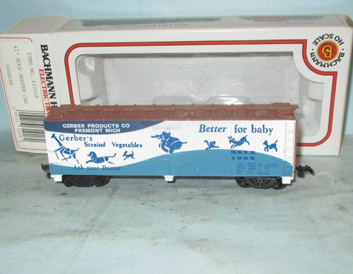 Bachmann 431018 Gerbers 41' Wood Reefer Car boxed